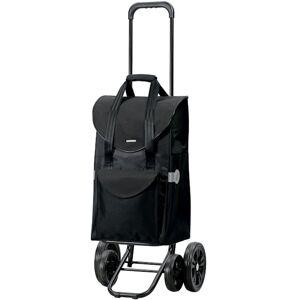 ANDERSEN Chariot de Courses noir très stable 4 roues 48l - Publicité