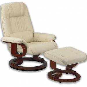 Fauteuil Relaxation Manuel Massant Chauffant cuir NEW EXQUI MAS - Publicité