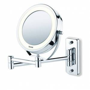 BEURER Miroir grossissant éclairé, mural et posable - Publicité