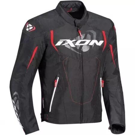 IXON Blouson Textile Ixon Cobra Noir Rouge