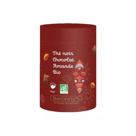 France Herboristerie Infusettes Thé noir, Chocolat, Amande BIO - Barrony's
