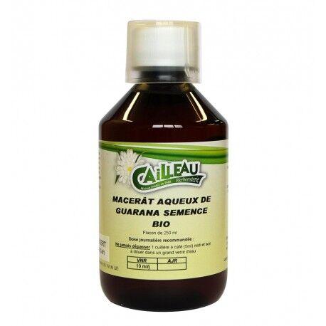 Cailleau - Herboristerie Macérat Aqueux de Guarana - Semence Bio  - Flacon de 250 ml - Cailleau