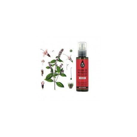 Laboratoire Combe d'Ase Huile de Massage Jambes Légères aux Huiles Essentielles - LCA Aromathérapie