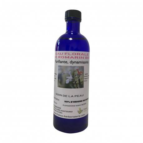 France Herboristerie Eau florale de romarin BIO flacon 200 ML. - Aromathérapie