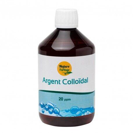 France Herboristerie Argent colloïdal 20 ppm 500 ml