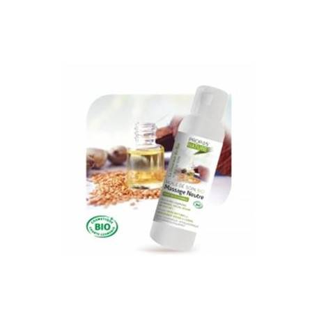 France Herboristerie L'huile de soin massage NEUTRE BIO 200 ML.