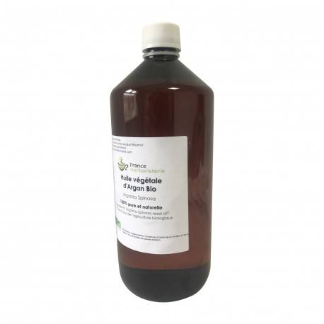 France Herboristerie Argan huile végétale BIO AB 1L