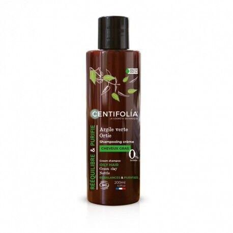 France Herboristerie Shampooing crème cheveux gras - 200mL - Centifolia