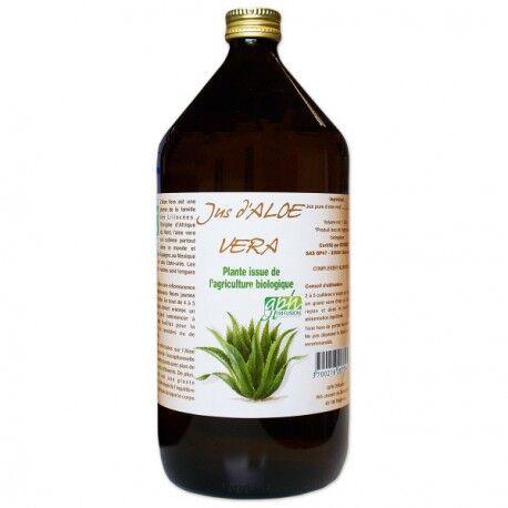 France Herboristerie ALOE VERA PUR JUS BIO AB 500 ml.