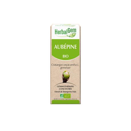 France Herboristerie AUBEPINE HERBALGEM, le bourgeon du coeur 50 ml
