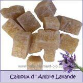 Cailloux Ambre et Lavande