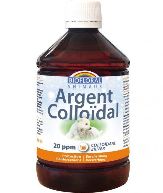 Argent colloïdal animaux 20 ppm naturel - 500 ml