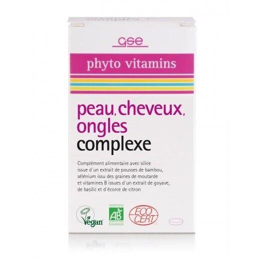 Complexe Bio Peau, Cheveux, Ongles - 60 comprimés
