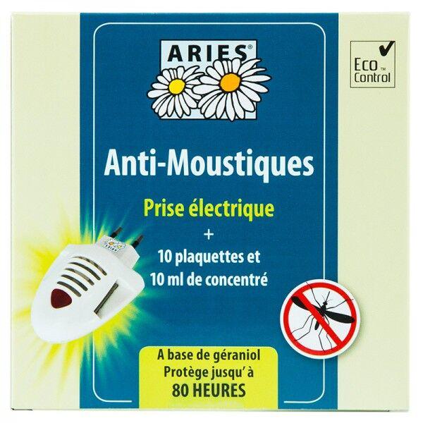 Diffuseur électrique anti-moustiques - 10 plaquettes et concentré