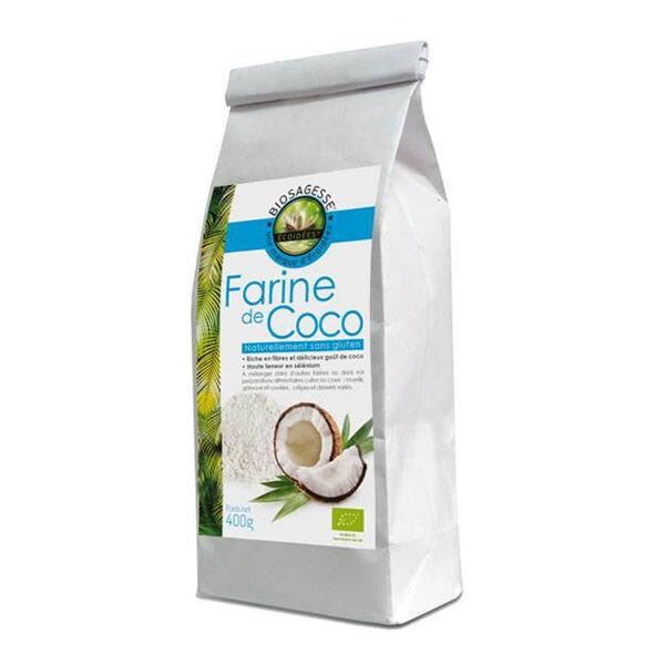 Farine de Coco Bio - sachet 400 g