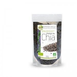 Graines de Chia noir bio - commerce équitable - 600 gr