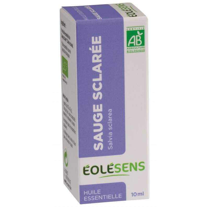 Huile Essentielle Sauge Sclaree - 10 ml