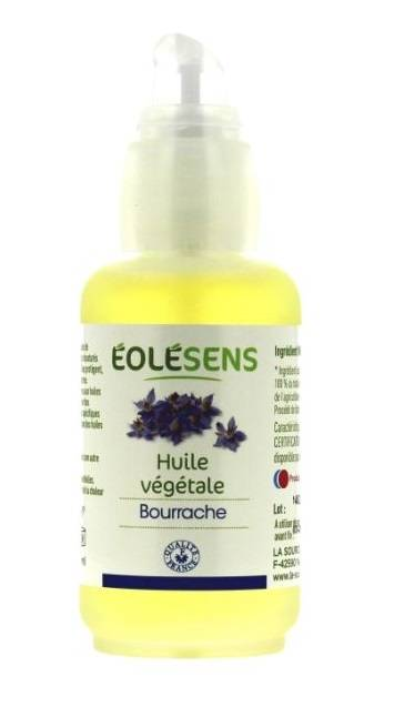 Huile végétale de Bourrache Bio - 50 ml