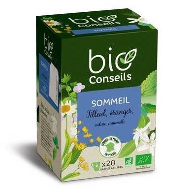 Infusion Sommeil Bio - 20 sachets