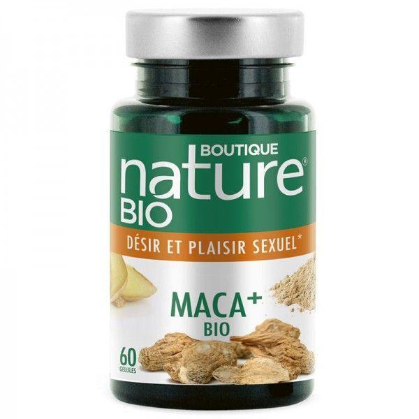 Maca + Bio - 60 gélules végétales