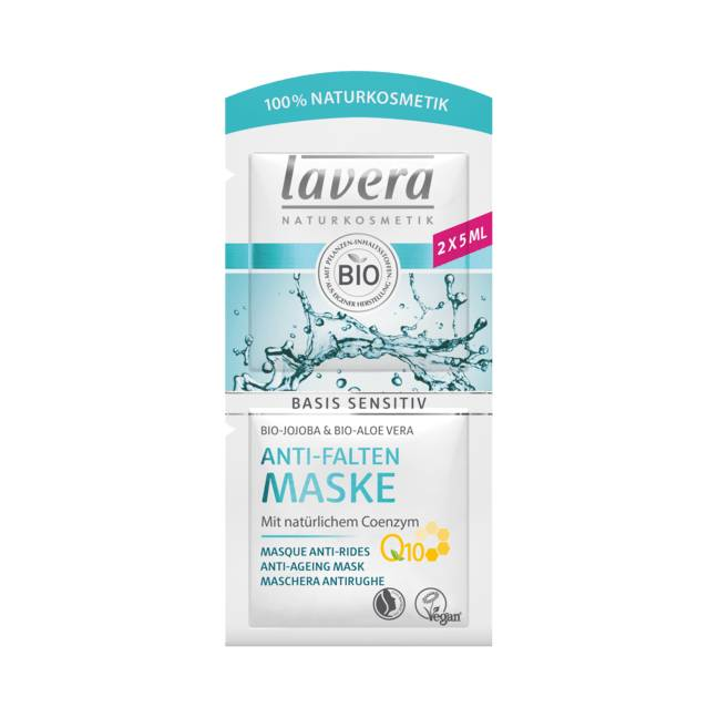 Masque anti rides à la coenzyme Q10 - 2 x 5 ml