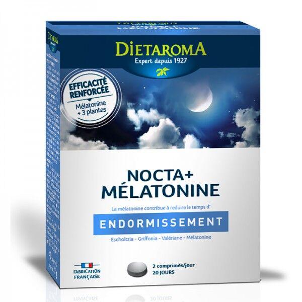 Nocta + Mélatonine - 40 comprimés