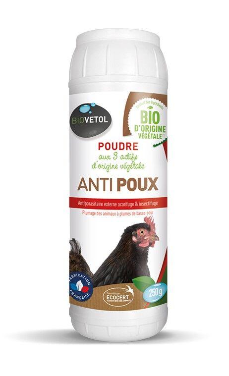 Poudre Anti-poux Basse-cour Bio - 250 g