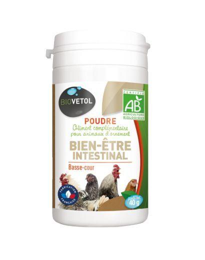 Poudre Bien-être intestinal Bio Basse Cour - 40 g