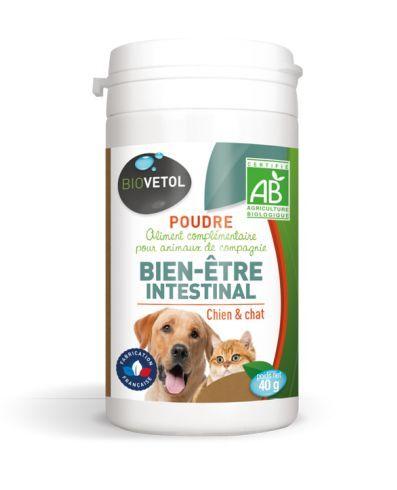 Poudre Hygiène Intestinale Bio Chien et Chat - 40 g