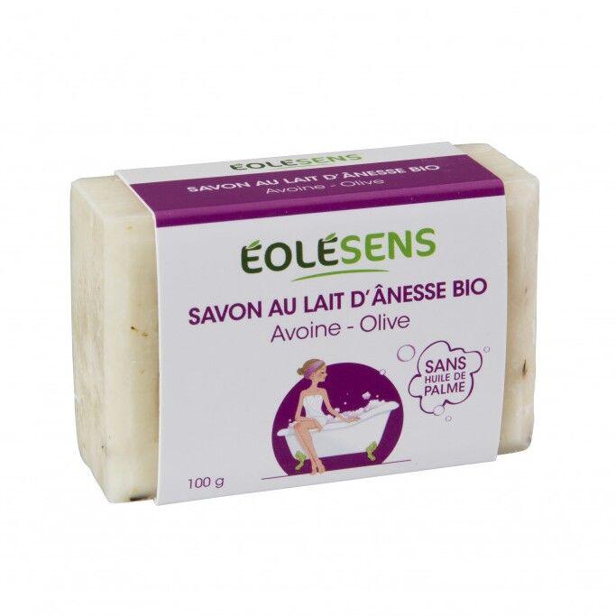 Savon Bio au lait d'Ânesse Avoine - 100g