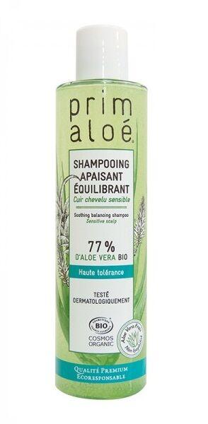 Shampoing Apaisant Equilibrant Bio 77 % Aloé Vera - 250 ml