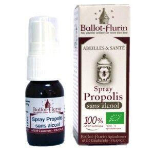 Spray de Propolis bio SANS ALCOOL - 15 ml