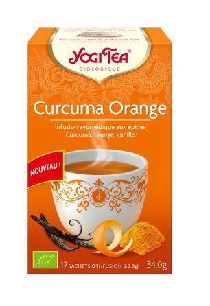 Yogi Tea Curcuma Orange Bio - 17 infusettes