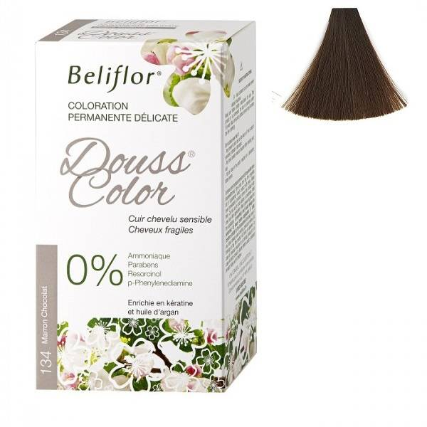 Coloration Dousscolor Marron Chocolat n°134 - 131 ml