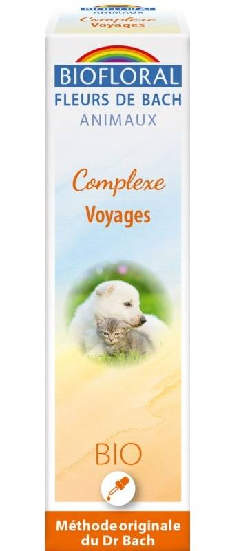 Complexe Voyages pour animaux - 20 ml