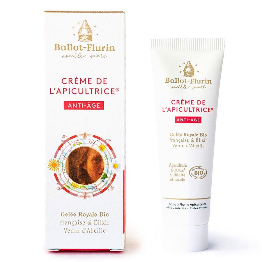 Crème de l'apicultrice Anti-âge Bio - 30 ml