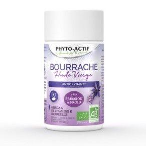 Huile de Bourrache Vierge Bio 500 mg - 90 capsules