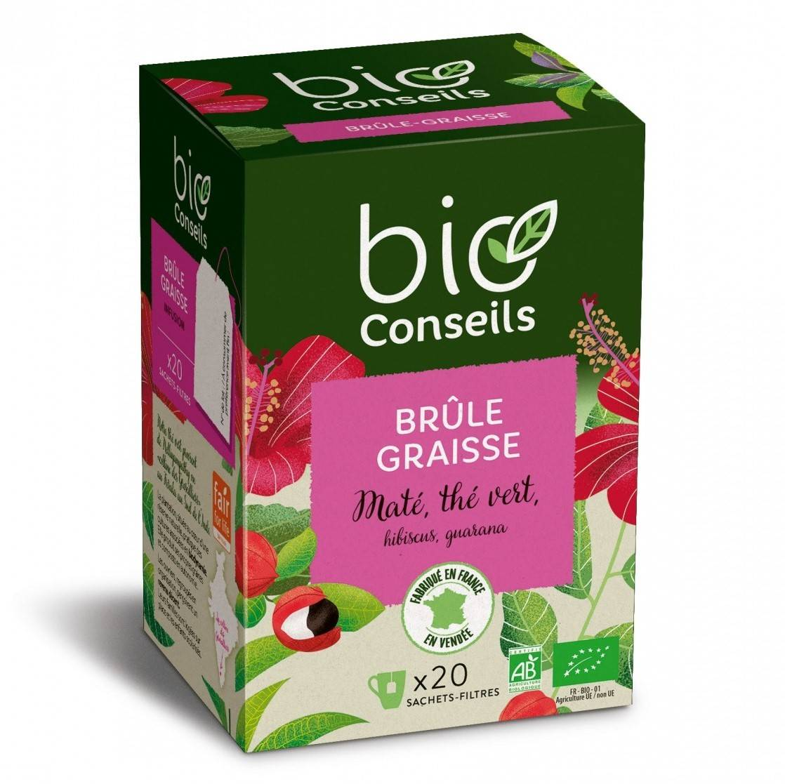 Infusion Brûle-Graisse bio - 20 sachets
