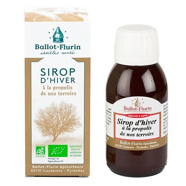 Sirop d'hiver à la propolis bio - 100 ml