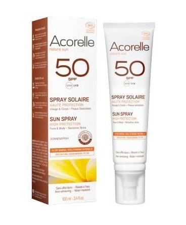 Spray solaire SPF 50 Bio - 100 ml