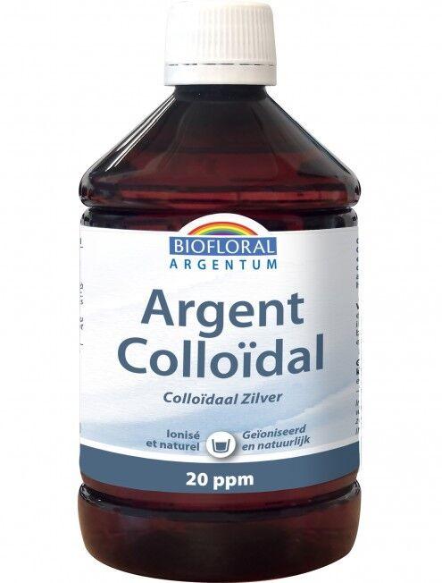 Argent colloïdal 20 ppm naturel - 500 ml