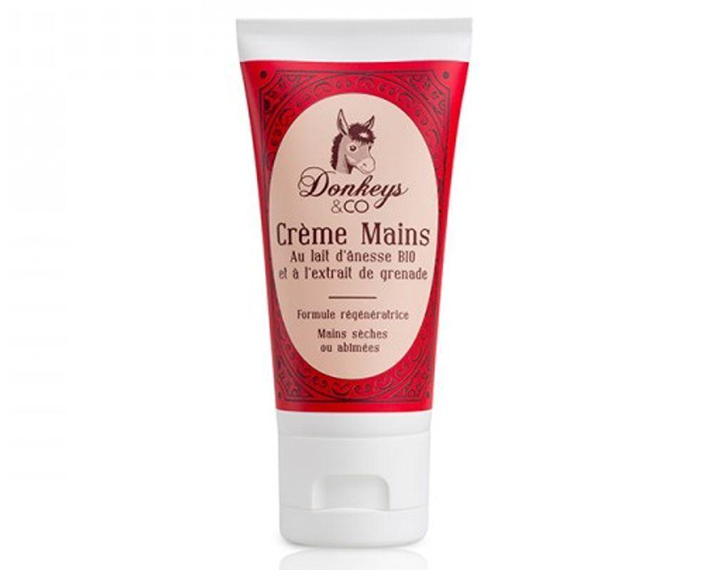 Crème naturelle mains Grenade au lait d'ânesse - 50 ml