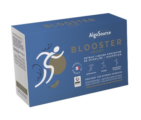 Blooster - Soutient vos efforts sportifs - 5 flacons de 30 ml