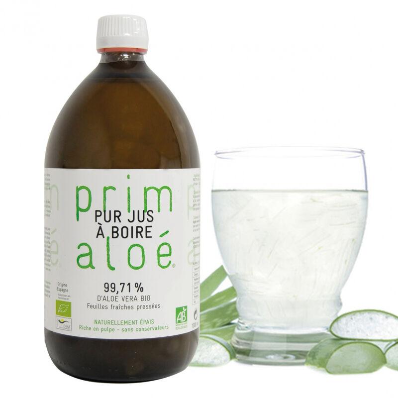 Pur Jus à boire Aloé Vera Bio 99,71% - 1L