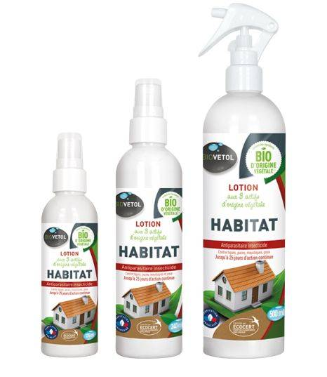 Lotion Habitat - Antiparasitaire Bio