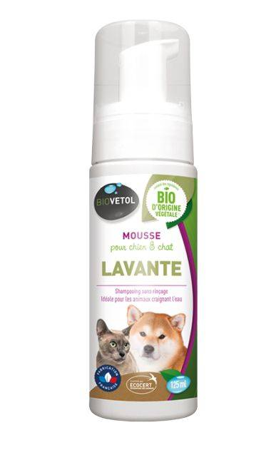 Mousse Lavante Chien et Chat Bio - 125 ml