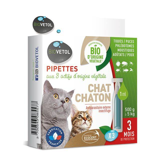 Pipettes insectifuges * 3 - Chat...