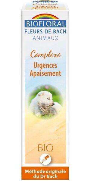 Complexe Urgences Apaisement bio pour animaux - 20 ml