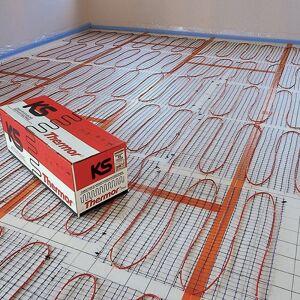 Thermor Plancher rayonnant électrique KS largeur 60 cm sans thermostat 300W