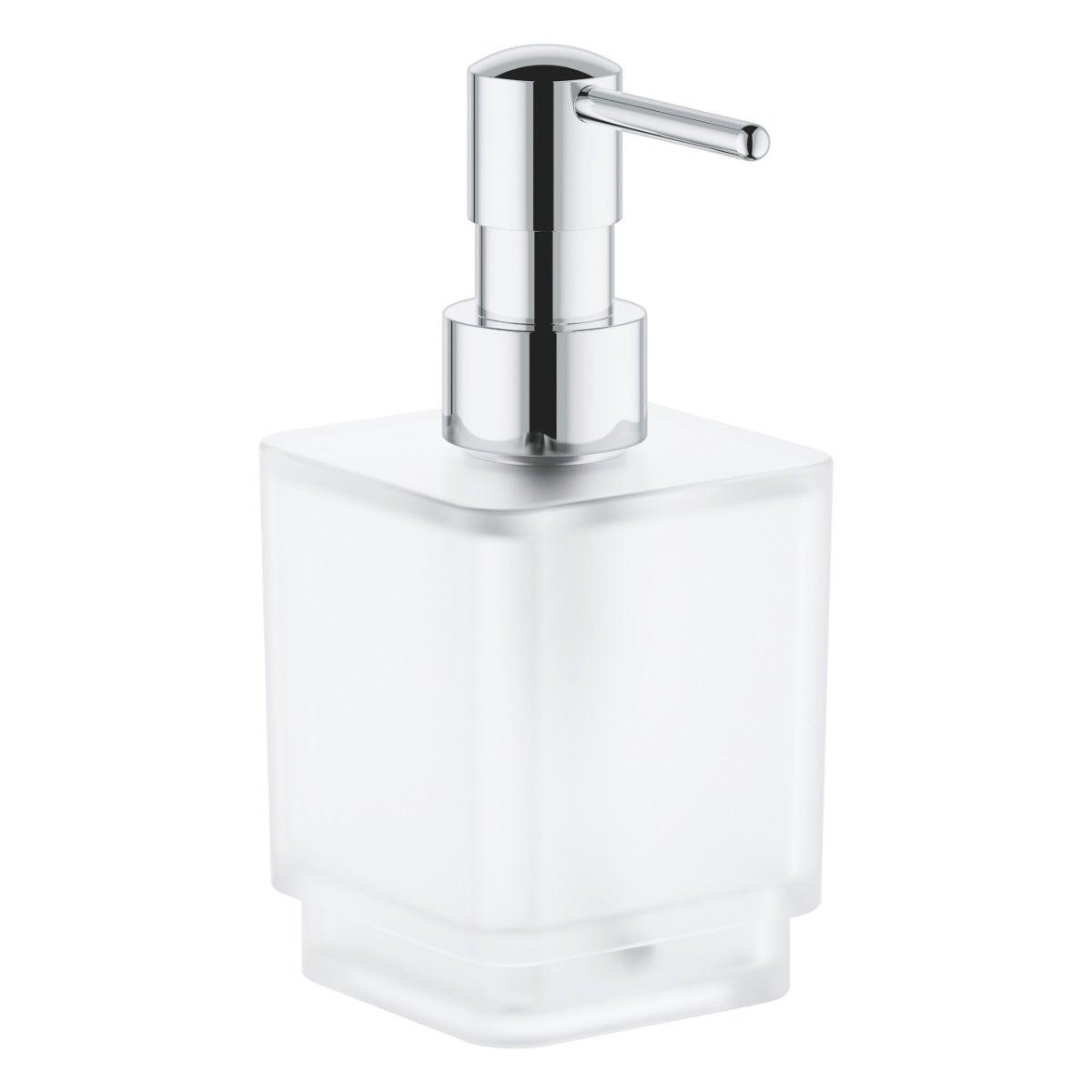 Grohe Selection Cube Distributeur de savon liquide